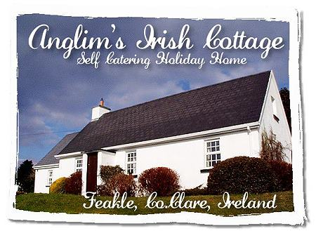 Anglim's Irish Cottage Self Catering Holiday Home Feakle East Clare Ireland